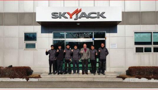 Skyjack in South Korea